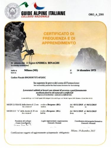 Personale qualificato e certificato