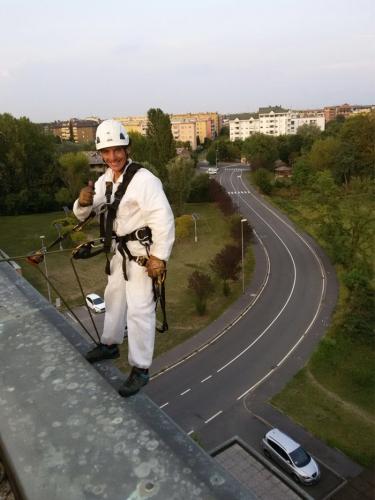Pulizia di pannelli fotovoltaici